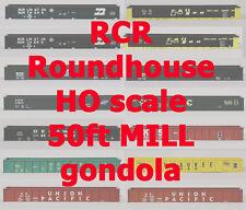 RCR - 50FT MILL GONDOLA  -  C&NW 11301