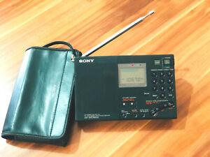 SONY ICF-SW 7600G World Band Receiver Weltempfänger mit Tasche, LW/MWSW/ LSB USB