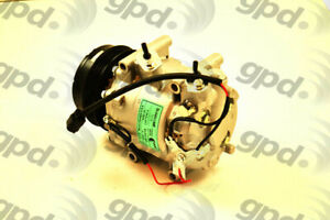 A/C Compressor For 2009-2014 Honda Fit 1.5L 4 Cyl 2011 2010 2012 2013 6513016