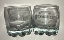 McCORMICK Imported Genuine Irish Whiskey Drinking Tumbler Rock Bar Glass 10oz