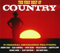 VERY BEST OF COUNTRY 3 CD NEW! JOHNNY CASH/JIM REEVES/DOLLY PARTON/+