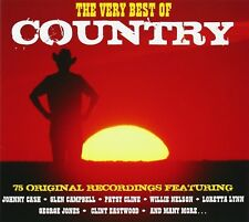 VERY BEST OF COUNTRY 3 CD NEUF JOHNNY CASH/JIM REEVES/DOLLY PARTON/+