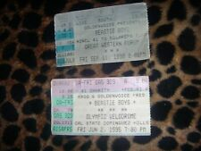 The Beastie Boys -1995 and 1998 Concert Tickets