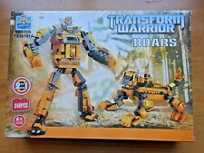Transform Warrior 240 piece Building Block 2 in 1 US Seller