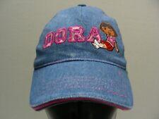 DORA THE EXPLORER - DENIM - TODDLER SIZE BALL CAP HAT!