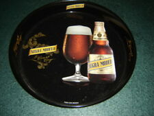 NEGRA MODELO Metallic Serving Tray vintage tin cerveza MEXICO charola Decorative