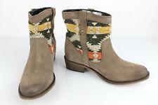 CABLE Bottines Boots en Daim taupe T 36 Excellent Etat