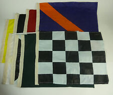 "Set of 8 Nascar Racing Signal Flags - Approx. 19"" x 13"""