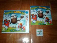 FUNKY BARN 3D...drôle de ferme...jeu complet...sur 3DS