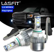 7600LM Bright LED Fog Light for GMC Sierra 1500 07-2015 Canyon 15-2019 Bulb 5202