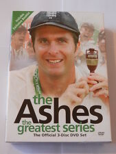 THE ASHES - THE GREATEST SERIES (DVD, 2006, 3-Disc Set, Box Set)