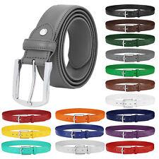 Falari Men Genuine Leather Golf Dress Belts Casual Belts Multiple Colors 9028
