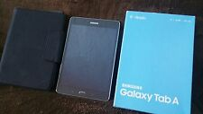 "SAMSUNG GALAXY TABLET - TAB A 8"" 16GB GRAY WITH CHARGER CASE"