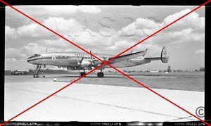 575 - Original B&W 616 Aircraft Negative - TRANS-CANADA L-1049G Connie CF-TEV