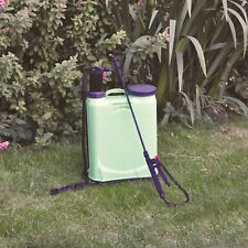 Kingfisher Value 16l Knapsack Backpack Sprayer Garden Weed Water Pressure Pump