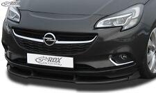Vauxhall Corsa E - Front splitter Vario PUR Plastic