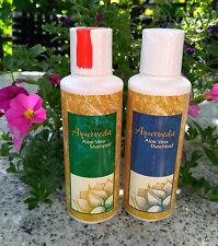 Schampoo und Duschbad 2 x 200 ml Ayurveda - Aloe Vera - Omega Shampoo Duschgel