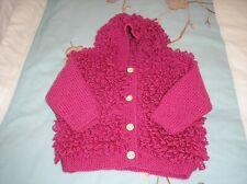 """Midgley 449 Vintage Knitting Pattern Ladies Girls Loopy Hoodie Jacket DK 24-40/"""""""