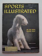 Champion Bedlington Terrier Dog February 8,1960 Sports Illustrated Magazine