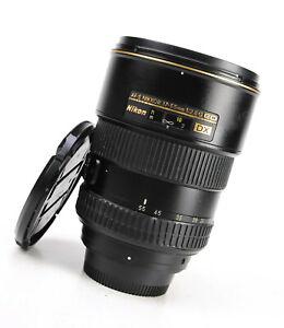 Nikon AF-S 17-55mm F2.8 G ED DX Autofocus Zoom Lens + Front & Rear Lens Caps