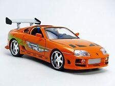 1:18 Brian's Toyota Supra - Fast & Furious Orange Car by Jada