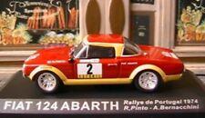 FIAT 124 ABARTH #2 RALLYE PORTUGAL 1974 IXO PINTO LISBOA 1/43 ALTAYA BERNACCHINI