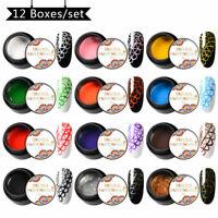 RBAN NAIL 5ml/box UV Gel Nail Polish Soak off Painting Gel Varnish Manicure Set