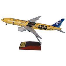 ANA 1/200 B777-200 JA743A C-3PO JET Star Wars Airplane Snap Fit Model w/ Gear