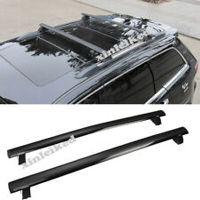 Metal Roof Rail Rack X Cross Bar Luggage Carrier for 2011-19 Jeep Grand Cherokee