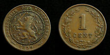 Netherlands - 1 Cent 1899