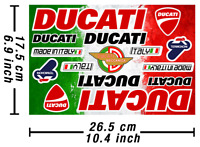 Ducati Decals Stickers Motorcycle Vinyl Autocollant Aufkleber Adesivi /644