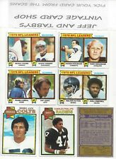 1979 TOPPS FOOTBALL 173-347 See SCANS