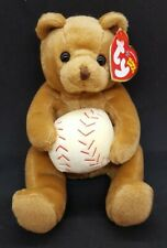 TY 2005 SHORTSTOP the BEAR BEANIE BABY - MINT with MINT TAGS