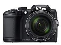 Nikon COOLPIX B500 16MP Digital Camera w/ Built-in Wi-Fi - Black