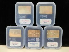 PNY 32MB SMART MEDIA CARD LOT OF 4 PLUS 1 TONE WORKS 16MB (21836-B4-Y)