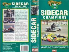 MOTORCYCLE SIDECAR CHAMPIONS   DUKE VHS PAL VIDEO~ A RARE FIND