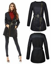 Unbranded Women's Leather Outdoor Biker Coats & Jackets