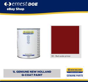 New Holland Q-Coat Paint 1L Tin | RED OXIDE PRIMER | Genuine | 51488815