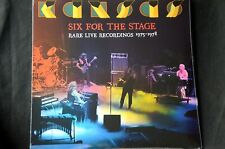 """Kansas Six For The Stage Rare Live 1975-1978 Double 12"""" Vinyl LP New + Sealed"""
