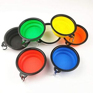 Collapsible Dog Bowls Portable Travel Food Water Bowl for Small & Medium Pet
