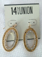 71babd3f8 Nordstrom Rack 14th & Union Chain and Ball Drop Earrings NWT $12.97 ...