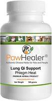 Cough Remedy for Dogs- Lung Qi Support Herbal Formula: For Loud, Honking Coughs