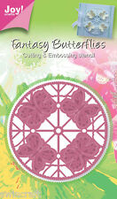 Joy Crafts découpe & gaufrage die-rond Papillon - 6002/0244 réduit *