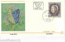 1985 - Fdc 1°Jour - Europa Cept - Johann Joseph Fux - Autriche - Austria