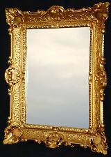 Specchio Antico da parete oro stile liberty BAGNO squallido 56x46 BAROCCO