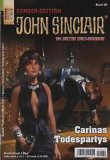 JOHN SINCLAIR SONDEREDITION Nr. 69 - Carinas Todespartys - Jason Dark - NEU