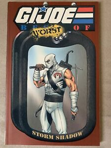 G.I. Joe Worst Of Storm Shadow TPB In Brand New Condition