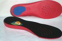 1 Pair of FootTrek  Maximum Arch Support Orthotic Insoles Inserts