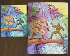MASTERS OF THE UNIVERSE HE-MAN 200 PIECE JIGSAW PUZZLE Opened 1985