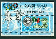 Sharjah Block 41 A , o ,  Olympische Spiele 1968
